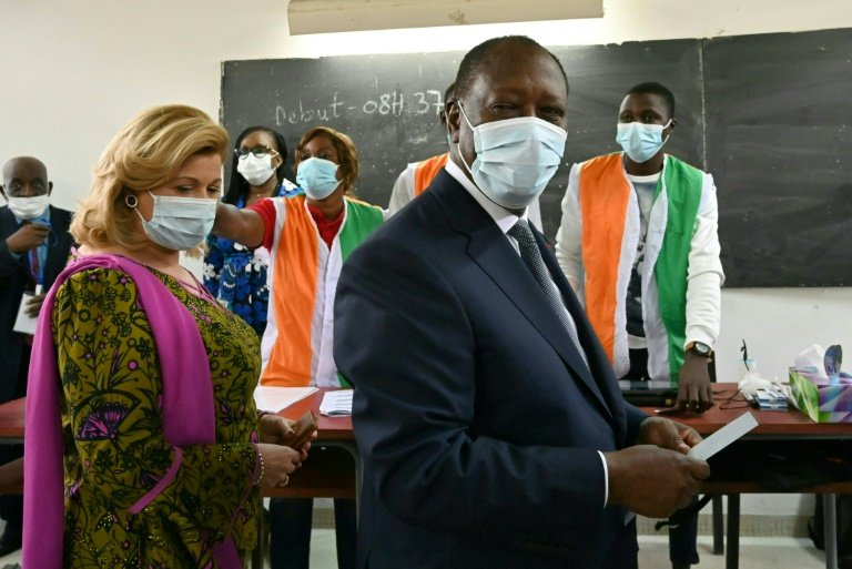 Ivory Coast ruling party warns opposition of post-election unrest