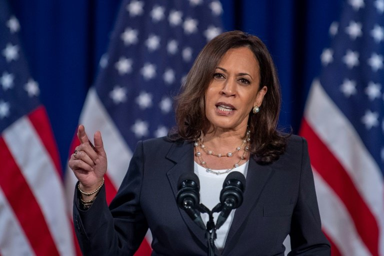 Historic moment: Kamala Harris: America's first woman vice president
