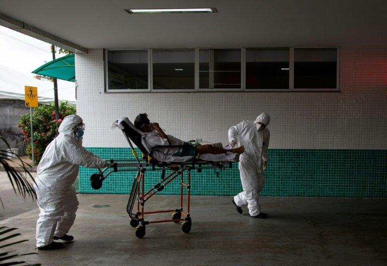 Brazil flies oxygen to virus-hit state