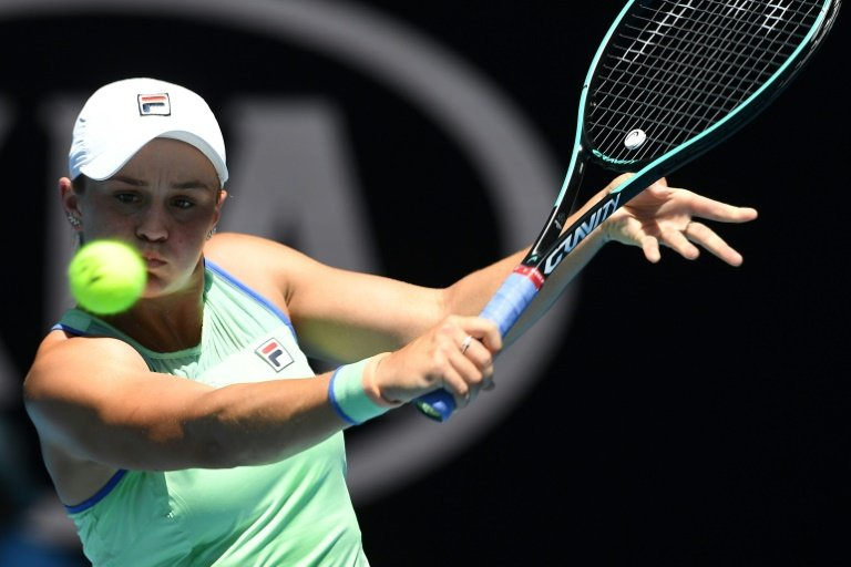 Barty gets back on court in Adelaide