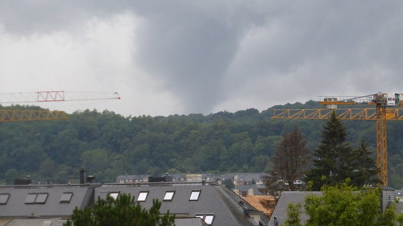 Tornado rips across southwest Luxembourg, seven injured
