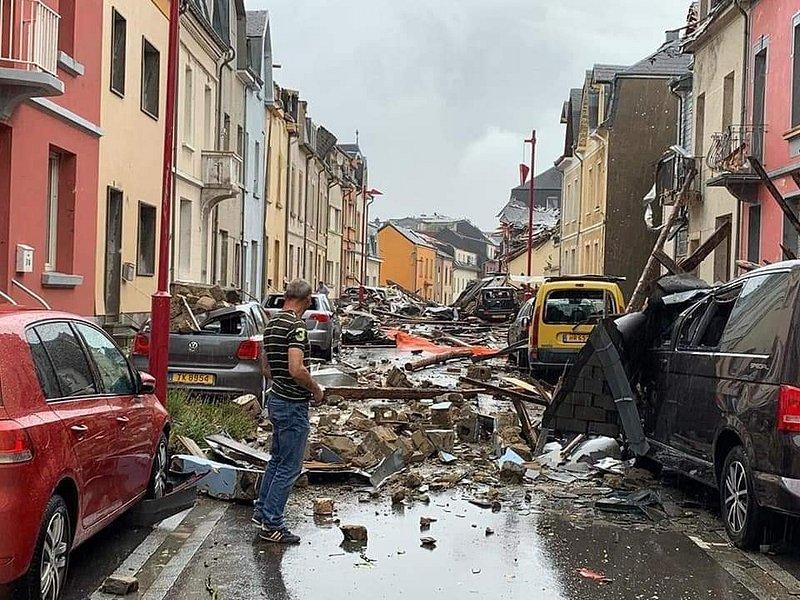 Violente tornade au Luxembourg : 7 blessés