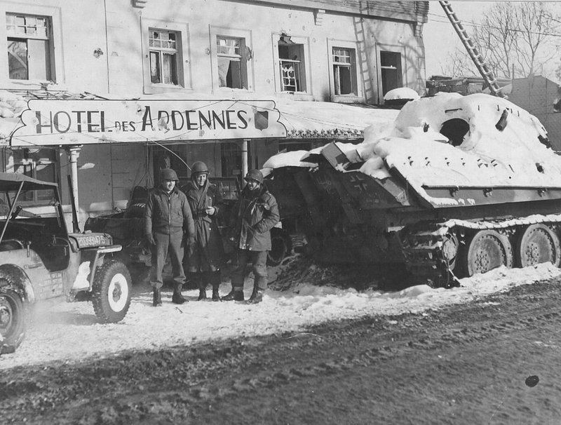 WWII allies, Germany mark 75 yrs since Battle of the Bulge
