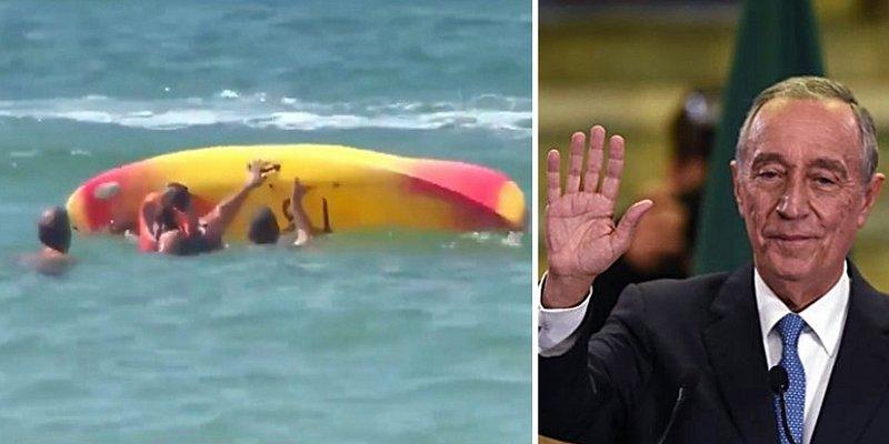 À 71 ans, le président du Portugal fait acte de bravoure