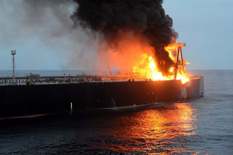 L'incendie sur le pétrolier New Diamond au large du Sri Lanka maitrisé