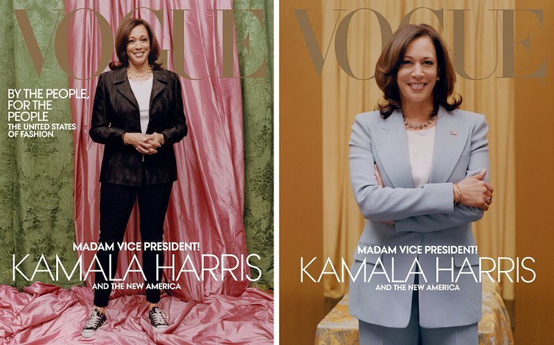 La Une de Vogue critiquée pour sa photo de Kamala Harris